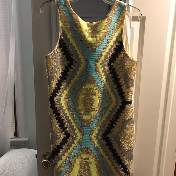 Francesca's Collections Dresses & Skirts - Francesca's Colorful tribal spring/summer dress